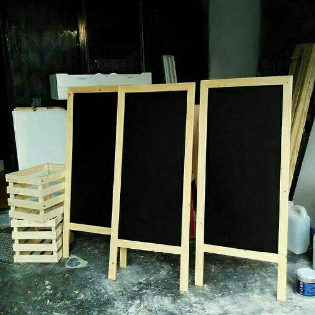 Papan Tulis Extra Besar Standing 120 50cm Cocok Untuk Menu Cafe Shopee Indonesia