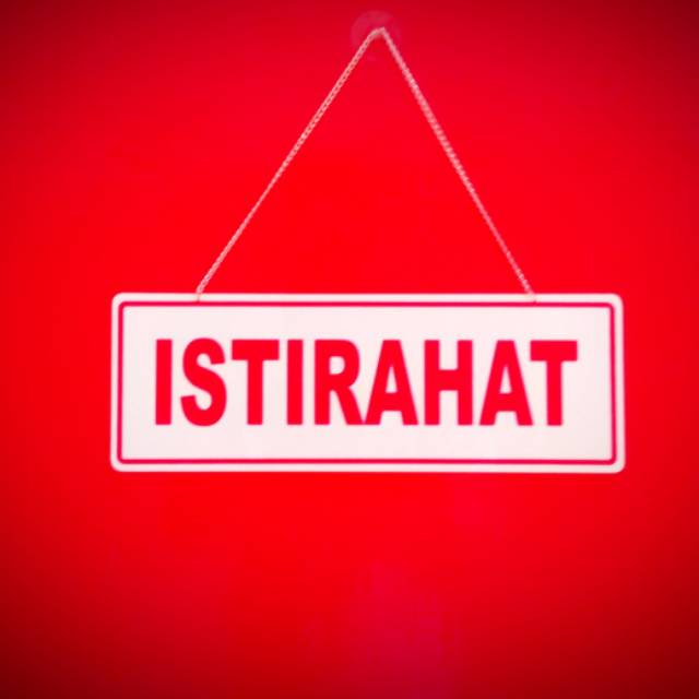 Image result for istirahat