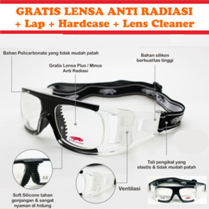 kacamata olahraga - Temukan Harga dan Penawaran Kacamata Online Terbaik -  Aksesoris Fashion November 2018  522b27b1ef
