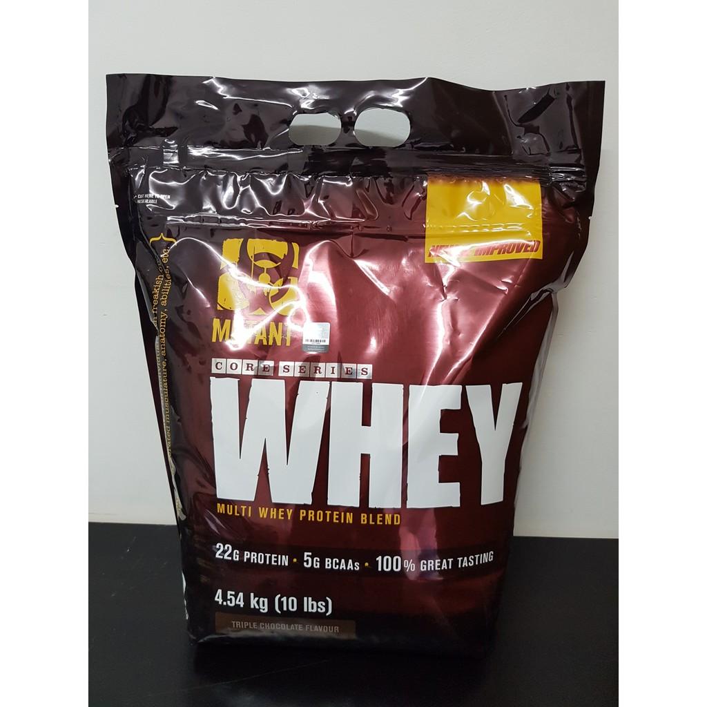 Mutant Whey Protein 10 Lbs Isolate Lisensi Bpom Shopee Prohybrid 10lbs Halal Rasa Coklatcapucino Indonesia