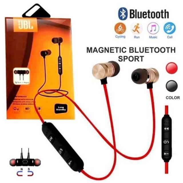 Headset Bluetooth Sport Jbl Magnetic Design Jbl Sport Headset Jbl Shopee Indonesia