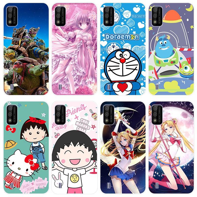 Anti-Jatuh Kartun Soft Case itel A26 Casing Covers itel A26 itelA26 Case TPU Silikon
