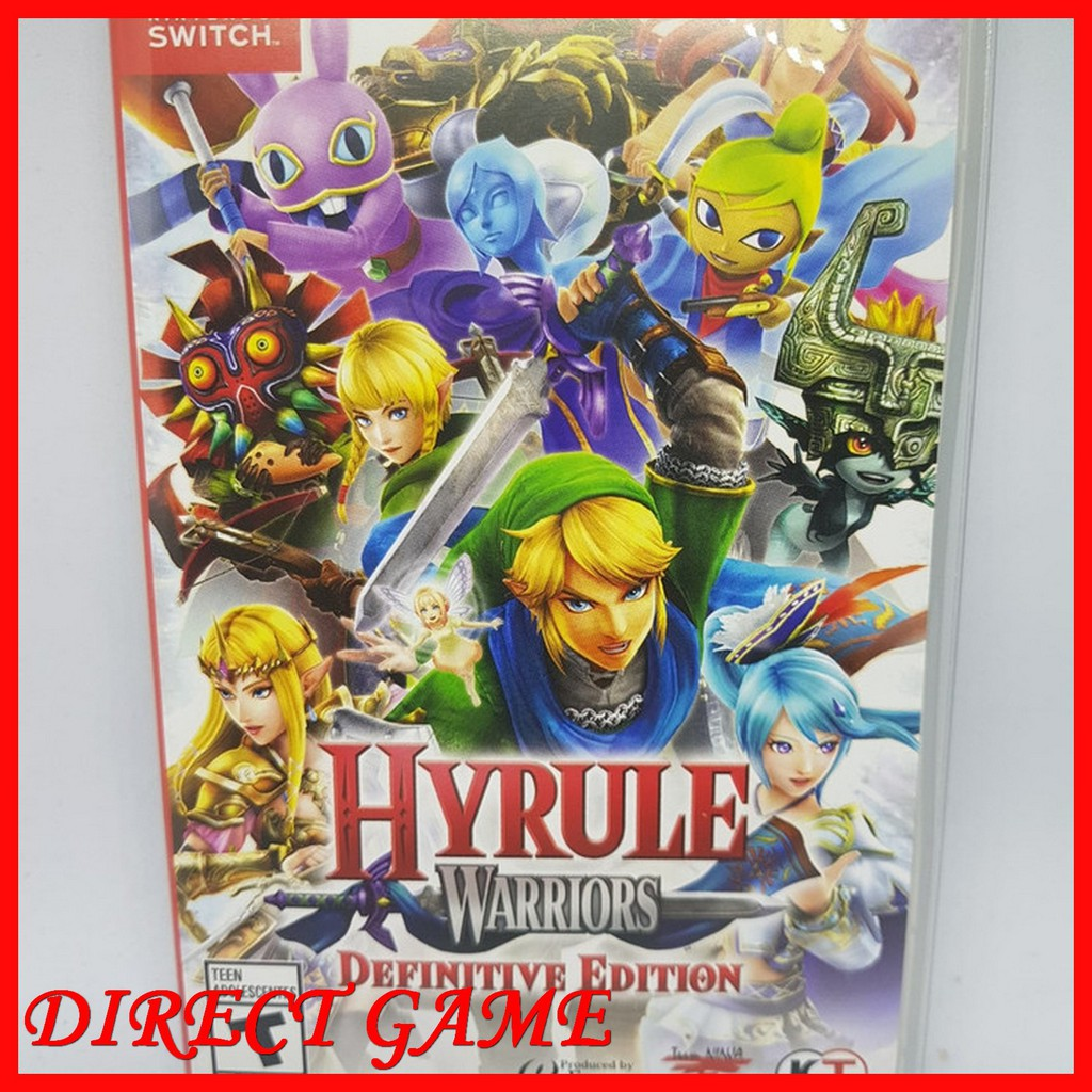 Nintendo Switch Hyrule Warriors Definitive Edition Shopee Indonesia