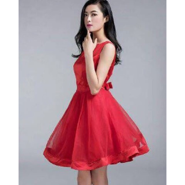 Dress Premium Gaun Pesta Import Gaun Pendek Tutu Dress Lucu Mewah