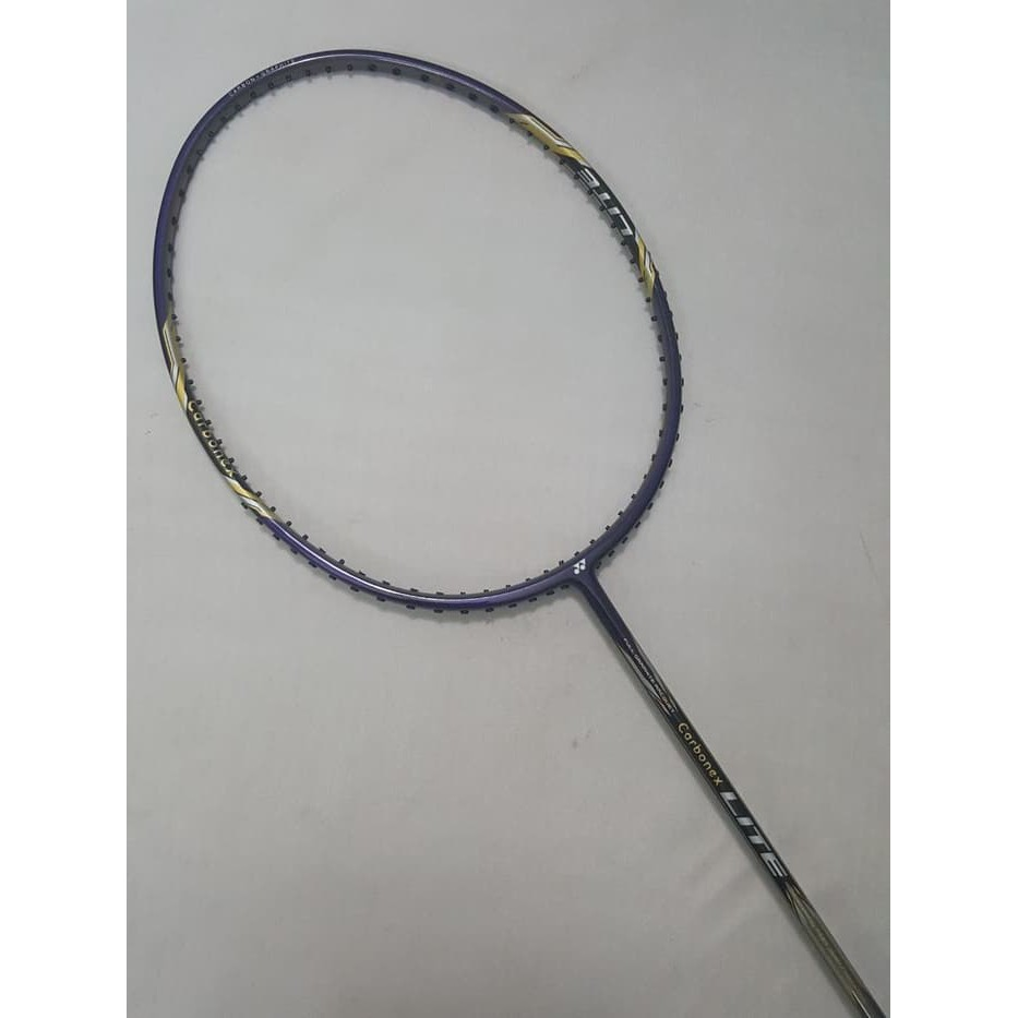 Yonex Carbonex Lite Navy Raket Badminton Original Shopee Indonesia