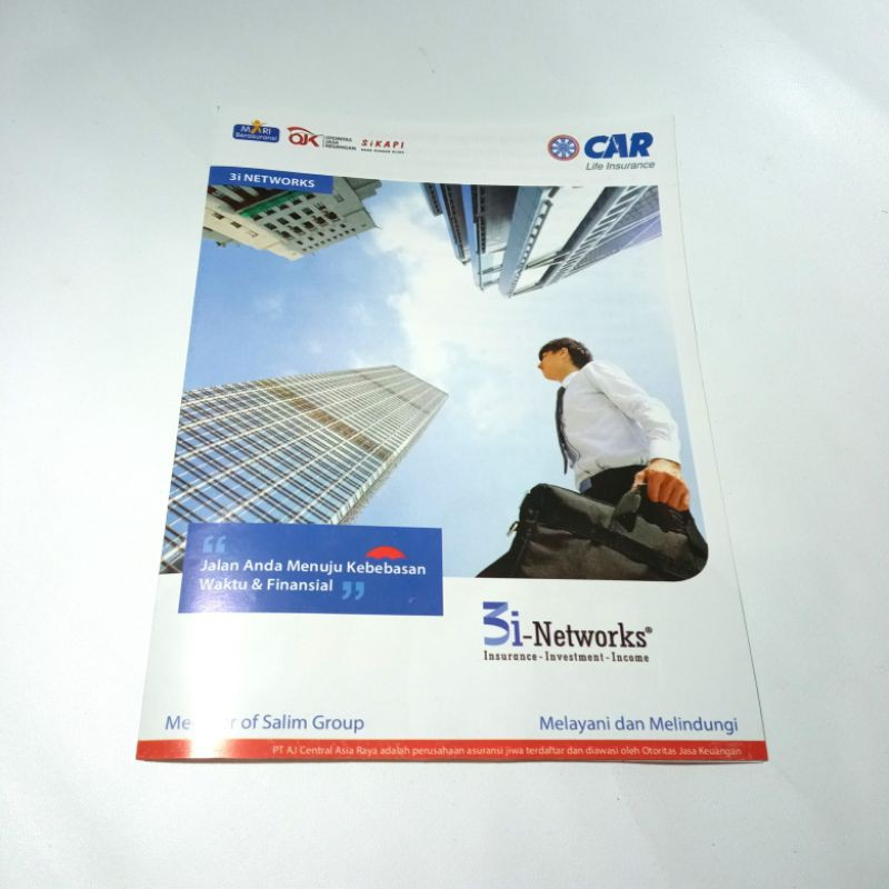 Brosur Presentasi / Bahan Promosi CAR 3i Networks (A4 Lipat Dua)