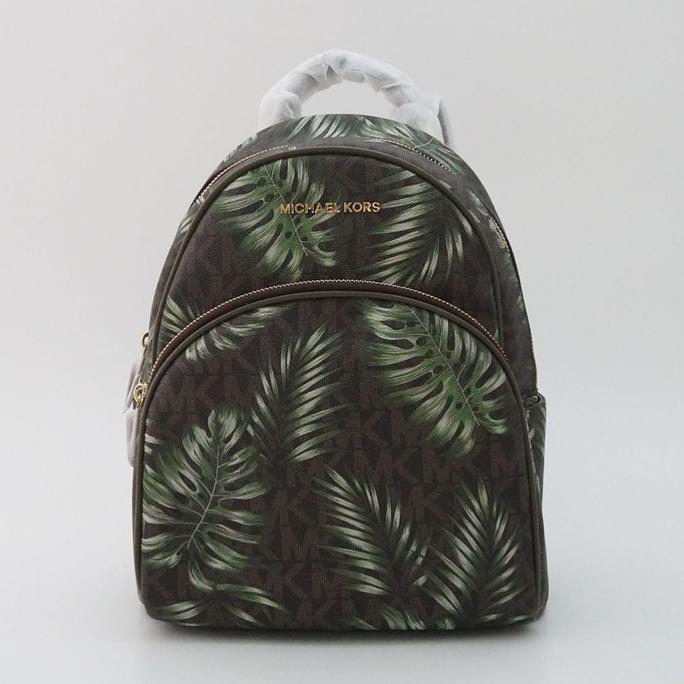 0f4e203a44c7 TERBAGUS Tas michael kors original - Mk abbey xs backpack signature brown  acorn ^ | Shopee Indonesia
