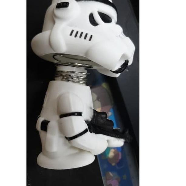 E Pasti Ready Boneka Goyang Mobil Star Wars Series Stormtrooper Action Figure E Shopee Indonesia
