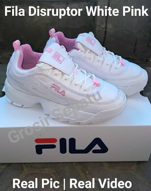 Sepatu olahraga wanita sepatu lari sepatu fila sepatu sneakers wanita sepatu  fila original  414322a168
