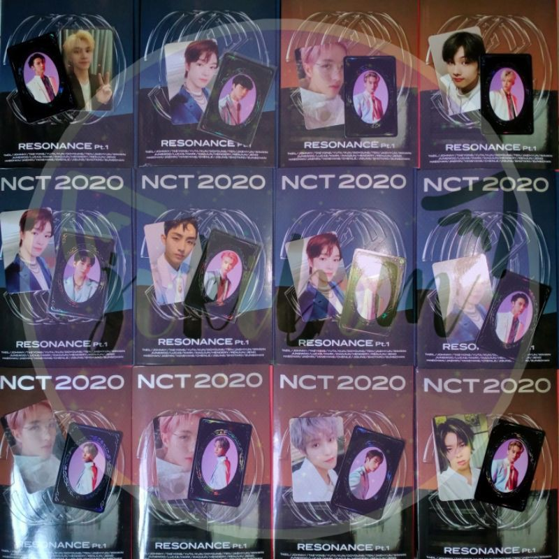Album NCT 2020 Resonance PT.1 Unsealed Photocard Yearbook Pc Yb Syb Special full set