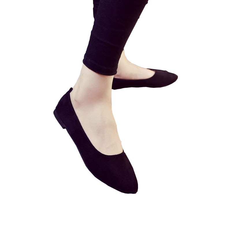 Hot Sepatu Wanita Flat Shoes Pantofel Karet Jelly Formal Yumeida Hitam -  Hitam 0b495b61a9