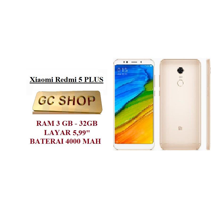 Xiaomi Redmi 5 Plus Ram 3gb 32gb Original Garansi Distributor 1 S2 Gold 3 Gb 32 Tahun Brand New In Box Shopee Indonesia