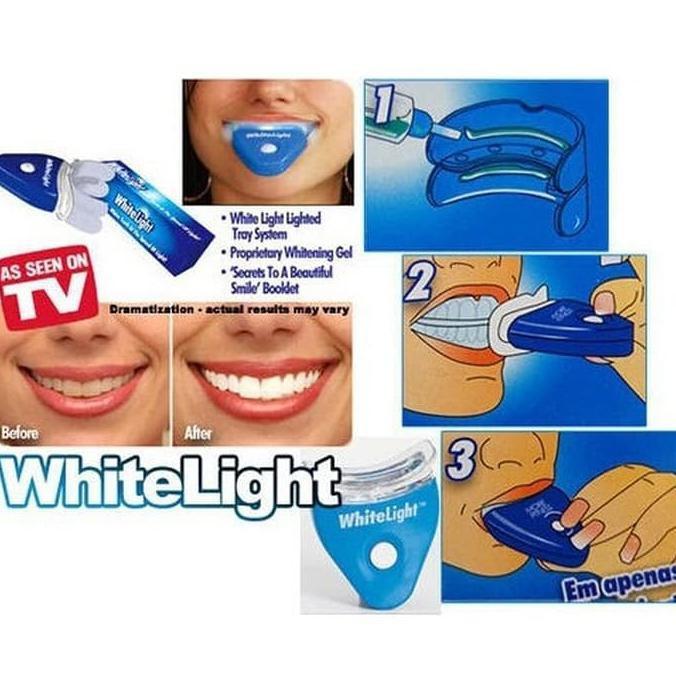 White light original USA pemutih gigi no 1  c6fdd0fb42