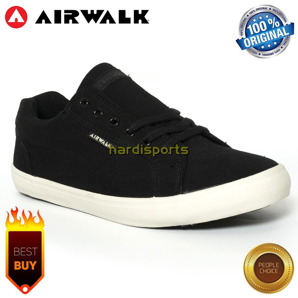 Sepatu Sneaker Pria Airwalk Keon Navy dan Grey - ORIGINAL  283e54b15f
