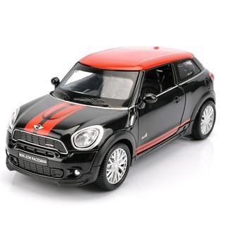 Bmw Mini Cooper >> Miniatur Diecast Mobil Bmw Mini Cooper Dengan Suara Dan Lampu Skala 1 32