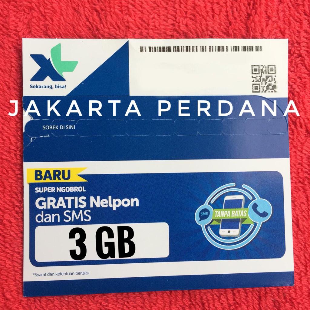 Perdana Tri Getmore 8 Gb Kartu Kuota Internet Shopee Indonesia 3 6gb