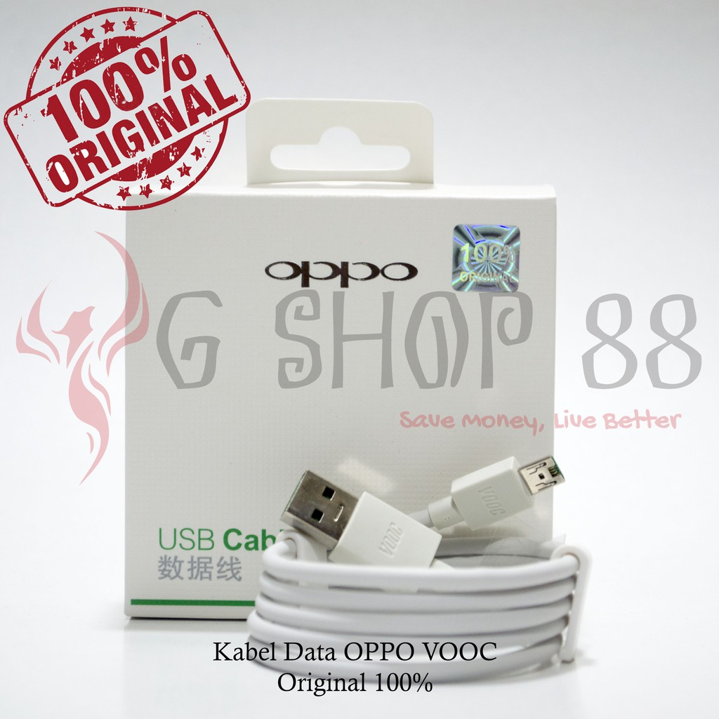 Kabel Data Oppo Vooc Fast Charging Original 100 Shopee Indonesia
