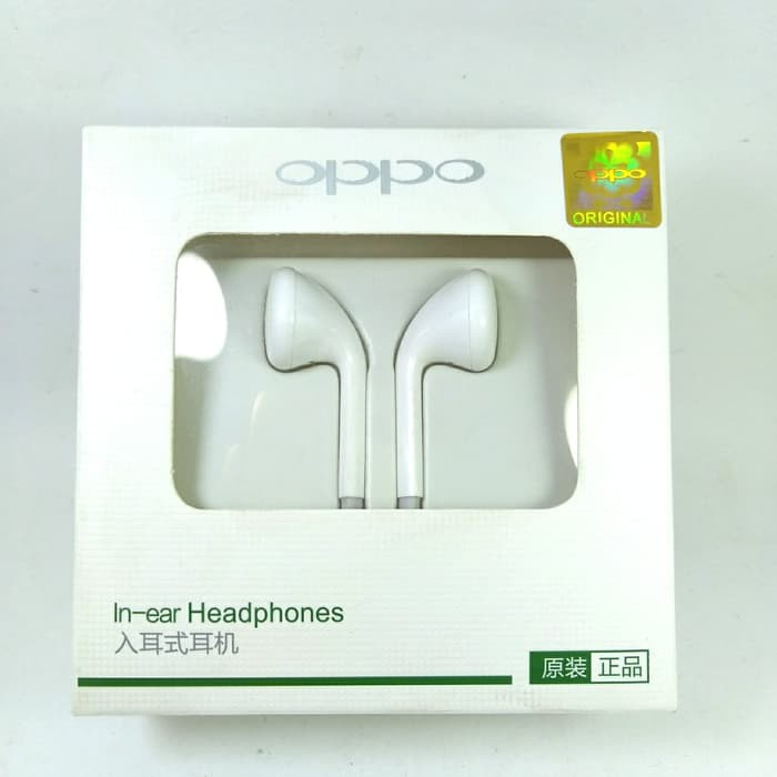 Handsfree / Headset / Earphone Oppo R9 Original MH 133 Non Karet