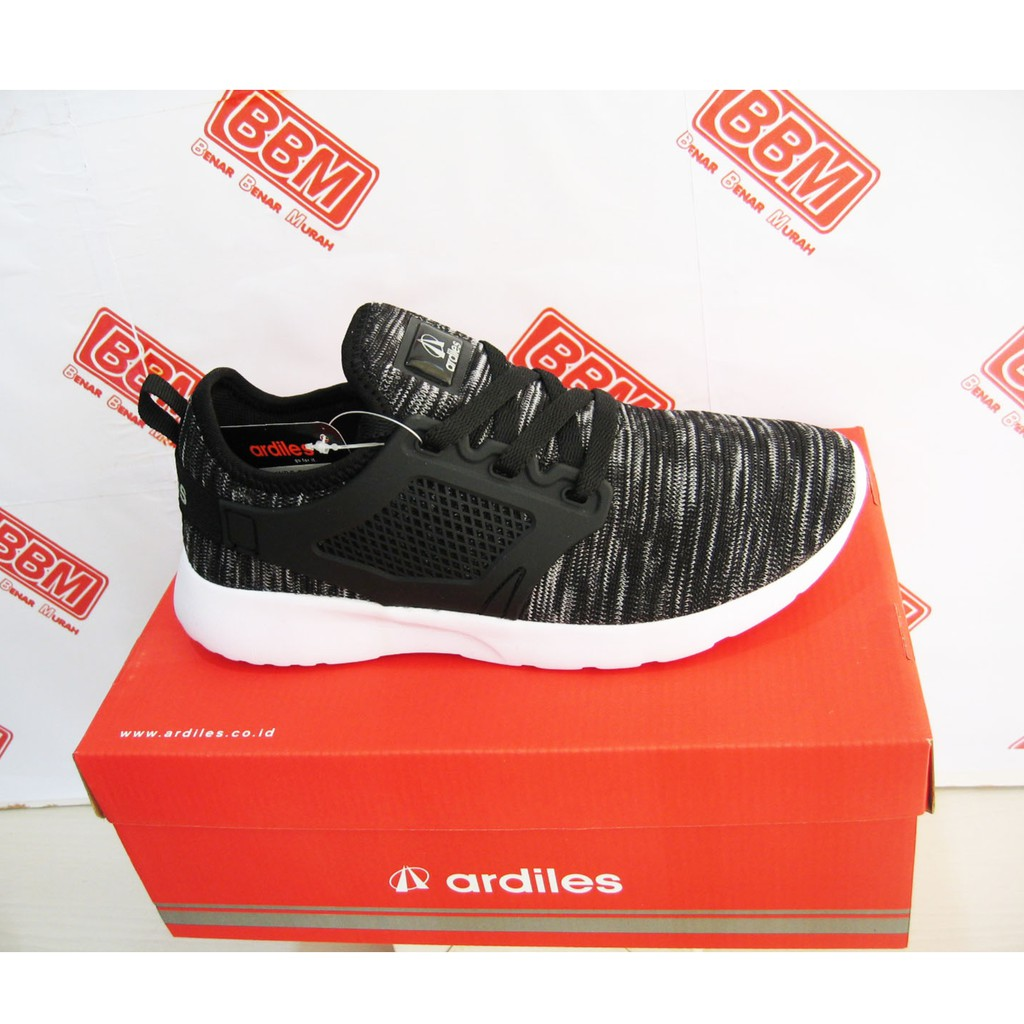 Sepatu Sneakers Ardiles Laziza Hitam Original Shopee Indonesia Women Running Navy 38