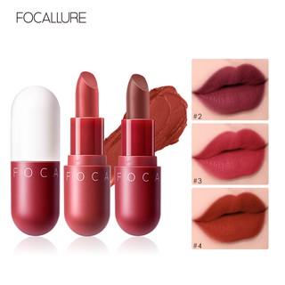 FOCALLURE Velvet Lipstick - Newest Sexy Lipstick Original 100% Produk Baru Eksklusif 1