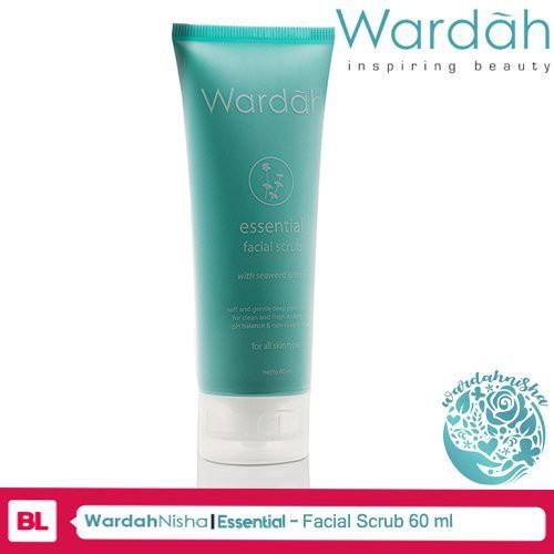 [NEW] Wardah Essential Facial Scrub 60ml | Shopee Indonesia