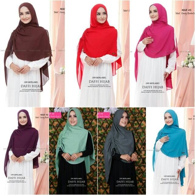 Daffi Hijab Shopee Indonesia