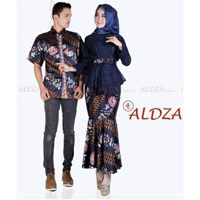 Couple kebaya modern rok duyung batik cp kondangan set kebaya mermaid  4f5658c885