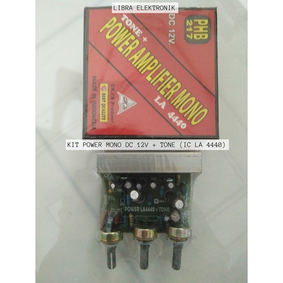 Kit Tone Control Mono Plus Power Supply Shopee Indonesia La4440 Stereo Amplifier D Mohankumar Audio