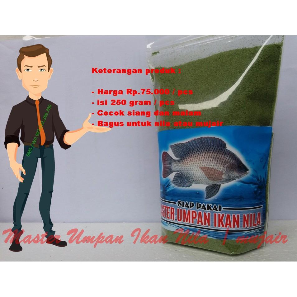 Umpan Ikan Nila Aroma Sari Lumut Cocok Siang Dan Malam Bagus