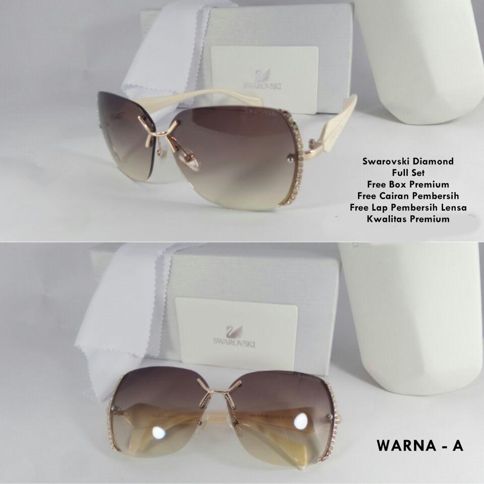 Kacamata Fashion Wanita Swarovski  89bec26e66
