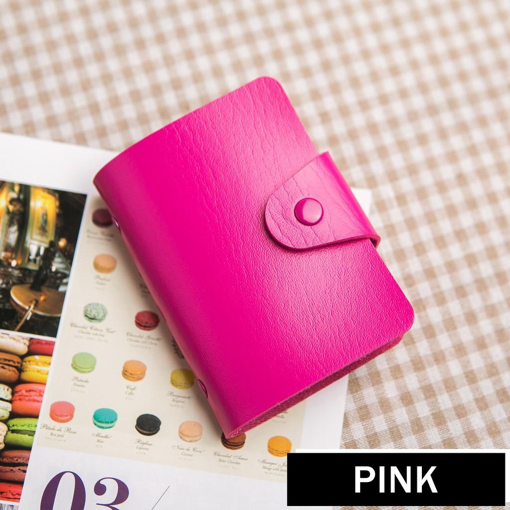 Dompet Kartu 24 Pc - Pink