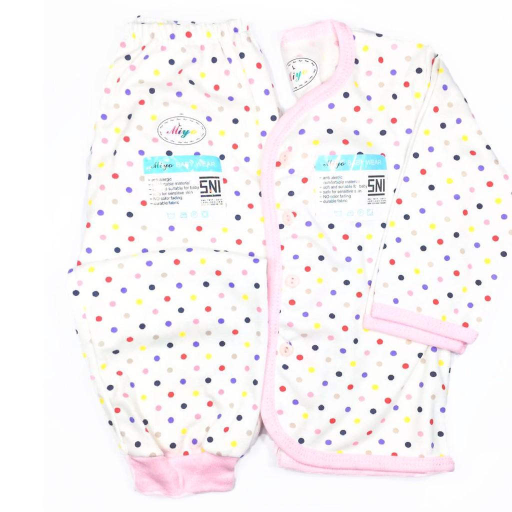 Miyo Salur Setelan Baju Lengan Pendek Celana Pop Size Newborn3 Bearbee Ampamp Newborn 3 Set 6bulan Shopee Indonesia