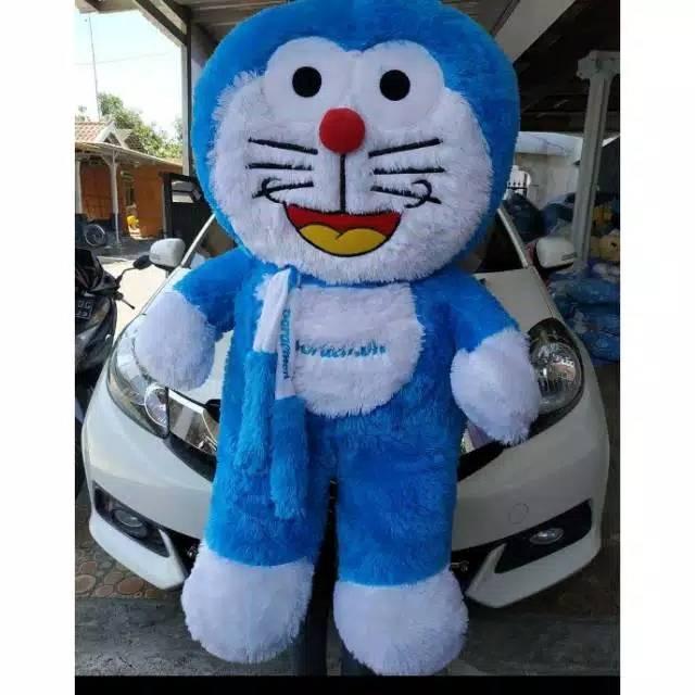Boneka Doraemon Lucu Doraemon Jumbo Syal Murah Shopee Indonesia
