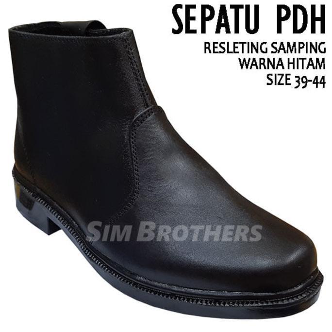 Sepatu PDH TM DOV Resleting Samping  de6558cb3e