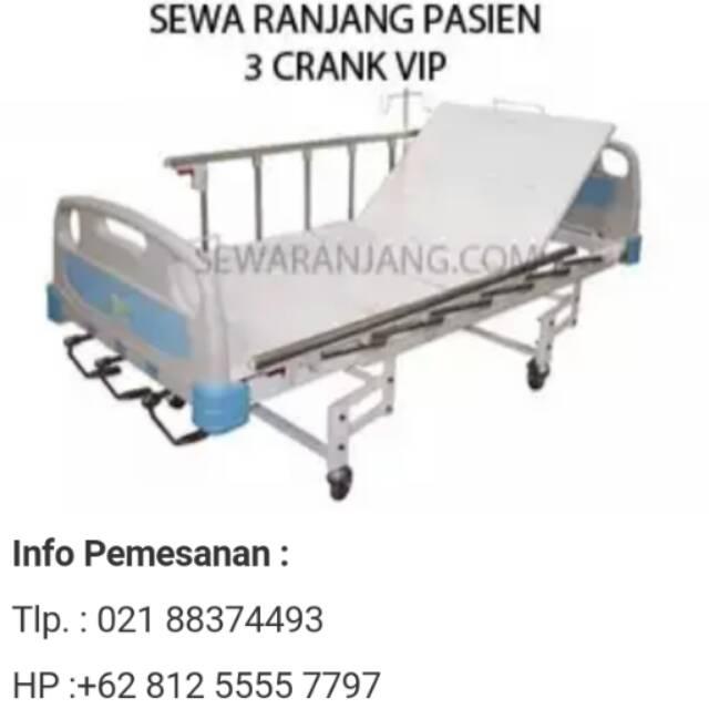 Ranjang Pasien Bed Pasien Tempat Tidur Rumah Sakit Shopee Indonesia