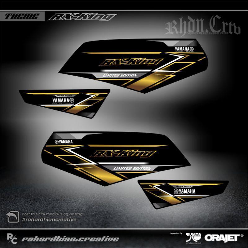 Striping RX KING - Sticker Striping Variasi list Yamaha RX KING