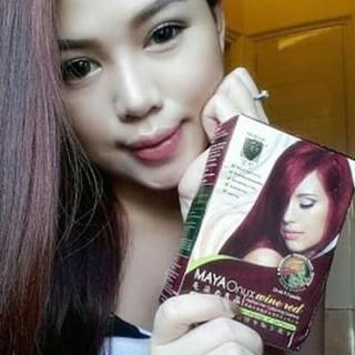Price Checker ((DIJUAL)) Shampo - Sampo Warna / Pewarna Rambut Herbal Maya Onyx MURAH.,.. discount - only Rp220.052