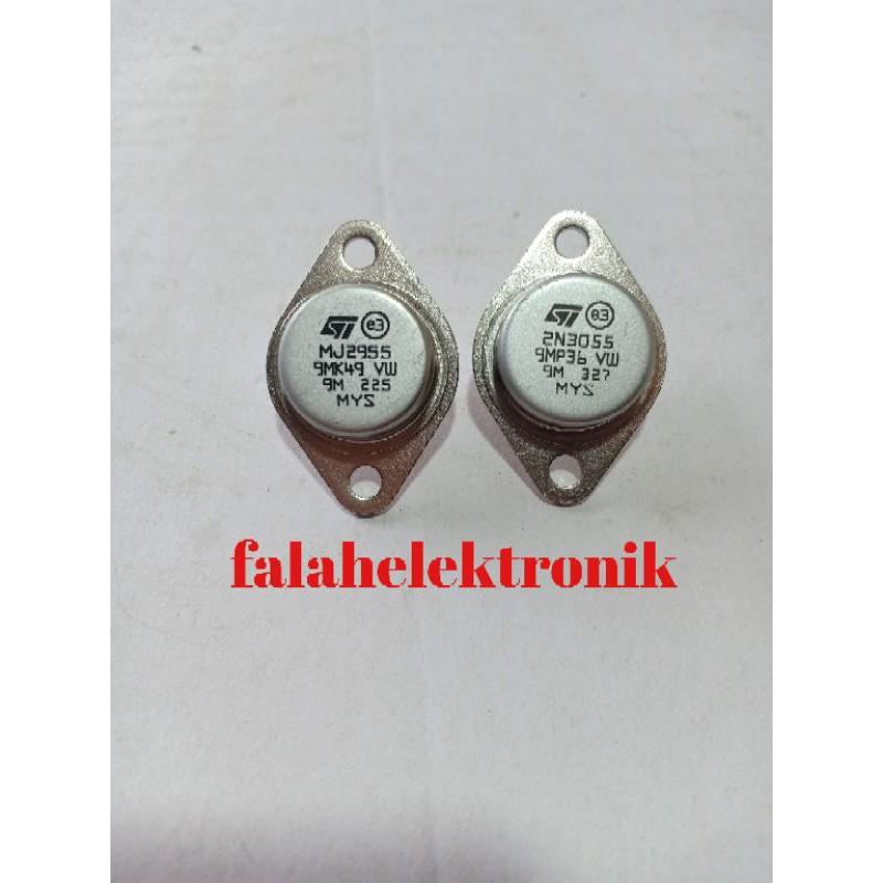 transisor jengkol malasya original 1st mj2955 dan 2n3055