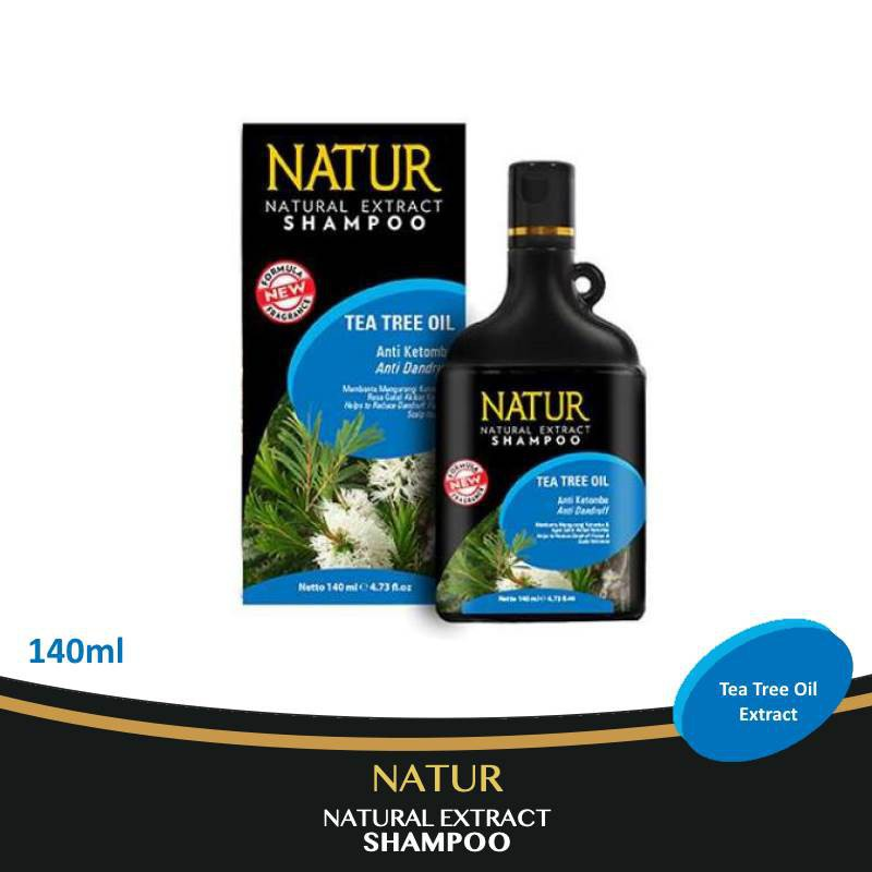 Natur Hair Shampoo Anti Dandruff-Anti Dandruf 140ml