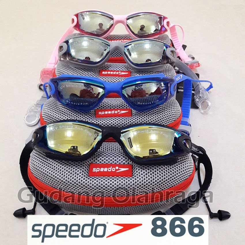 Kacamata Renang Speedo Anti FOG   UV 866  85390882dd