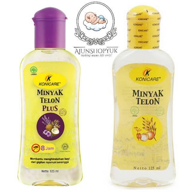 [isi 3] Konicare minyak telon plus ungu 125ml 125 ml Paket Hemat isi 3 | Shopee Indonesia