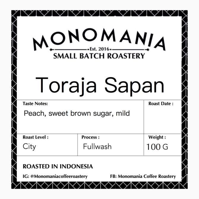 Otten Coffee Arabica Toraja Sapan .