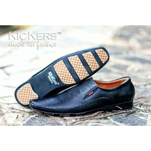 Sepatu Pantofel Kantor Formal Pria Kulit JT10  8fe1c9145f