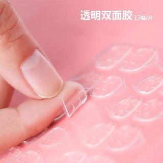 12 PCS 24pcs PER SET untuk fake nails atau false nails glue Lem Stiker kuku Nail sticker Sticker Stiker thumbnail