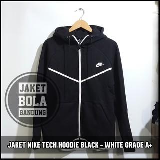 5e013398f JAKET MANCHESTER UNITED ANTHEM HOODIE BLACK 2018 GRADE A | Shopee Indonesia