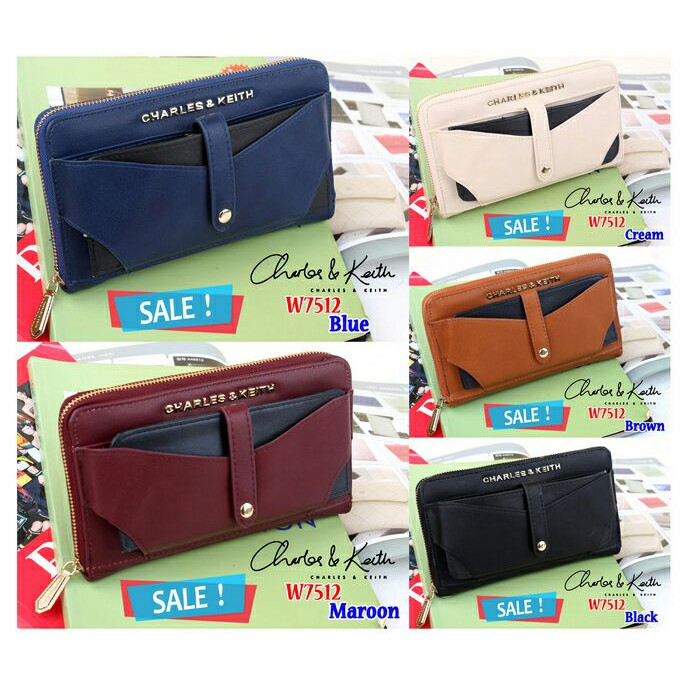 (SALE)  CHARLES   KEITH Dompet W7512  a29f100242