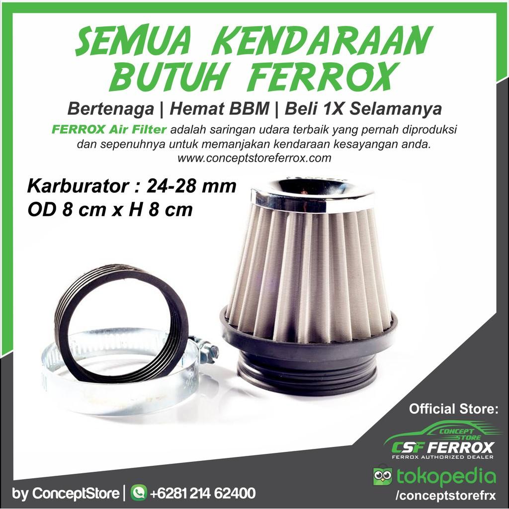 Bike S Filter Udara Ferrox Vario 125 150 Pcx Murah Bagus Honda Pgm Fi Kualited Shopee Indonesia