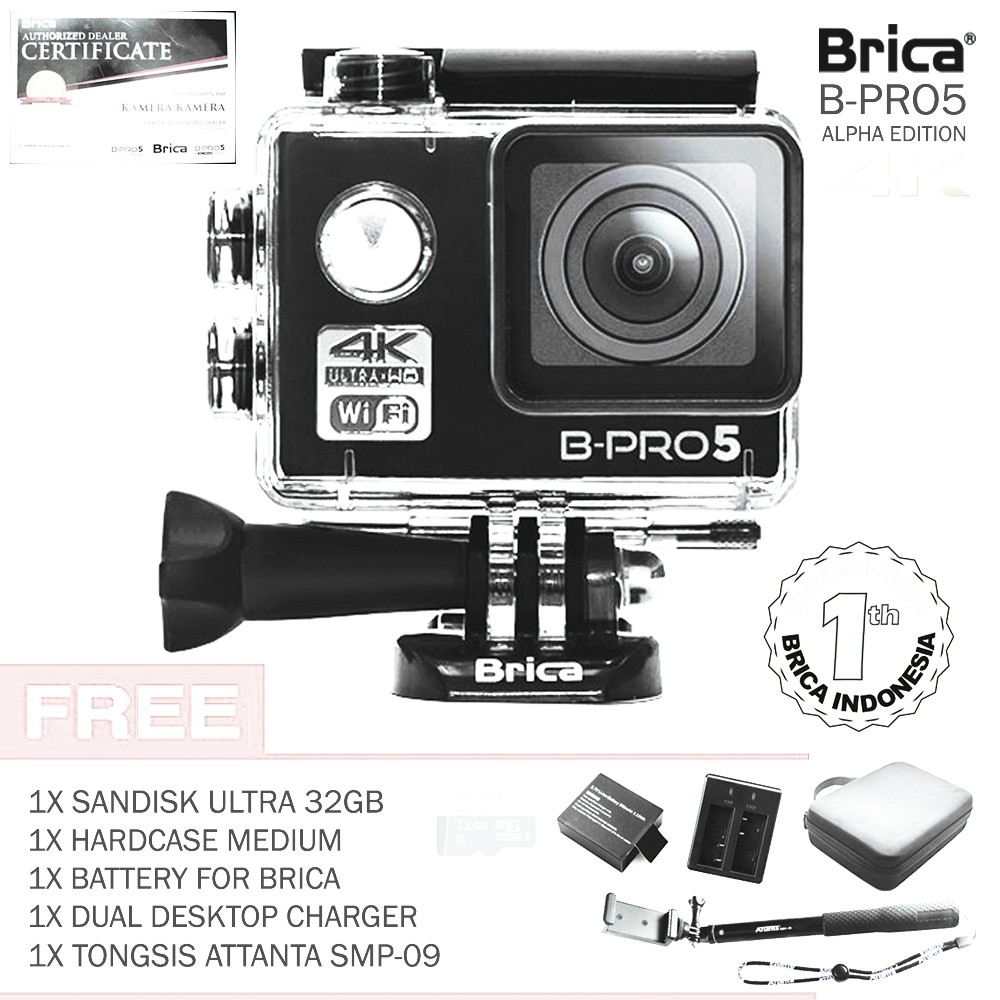 DISKON BRICA B PRO5 4K 16MP BPRO 5 MARK IIS MARKIIS MARK 2S AE II S