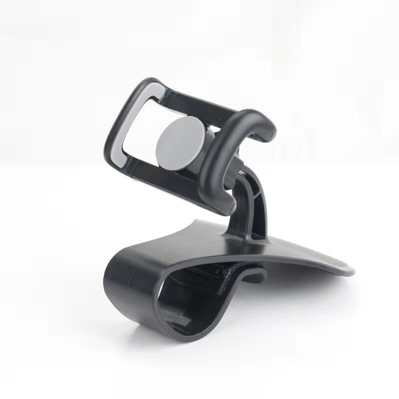 Black Car Dashboard Phone Mount Holder Stand Cell Number Plate for Temp Parking