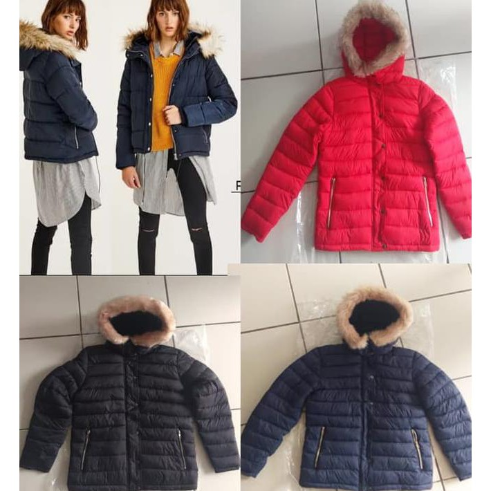 Jacket Jaket Duck Down Pull And Bear Duck Down f0ae448cab